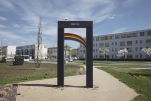 Jahrelang kämpfte die Initiative Pogrom91 für ein Denkmal, das die Ausschreitungen 1991 thematisiert. Vor anderthalb Jahren wurde es errichtet.