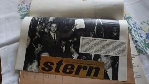 Auch im Westen kritisierte Schmidt-Lorenz die DDR-Führung. Bei einer Veranstaltung in Marburg schaffte er es in den Stern.